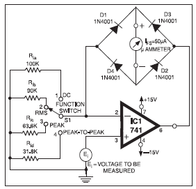 voltmeter circuit Page 4 : Meter Counter Circuits :: Next.gr