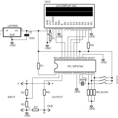 Marine Voltmeter Wiring Diagram Origami Com Results Page 22 About Pic Temperature Controller Searching 16 G 2 Lcd Volt Meter Ampere With Schematic