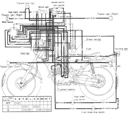 4 Way Flat Wiring Diagram - Wiring Diagrams ROCK