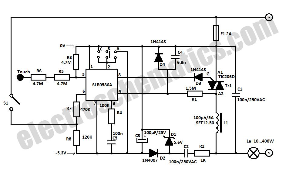 light sensor circuit Page 3 : Light Laser LED Circuits