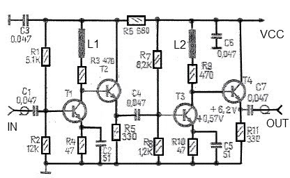high gain antenna 43dB amplifier circuit under Repository