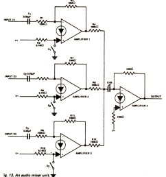 audio mixer circuit page 3 audio circuits next gr lm3900 audio mixer circuit amplifier circuit schematic projects [ 1423 x 1600 Pixel ]