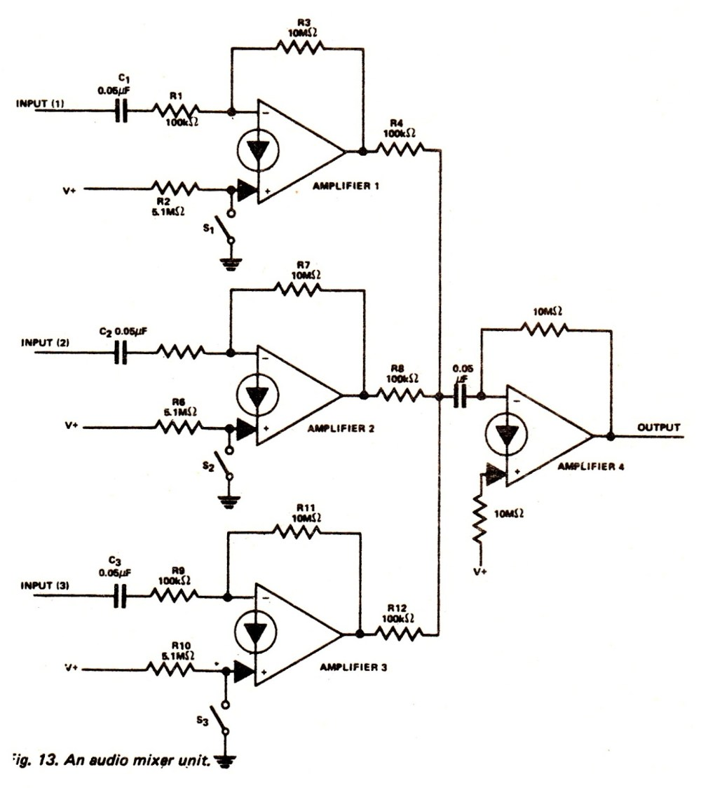 medium resolution of audio mixer circuit page 3 audio circuits next gr lm3900 audio mixer circuit amplifier circuit schematic projects