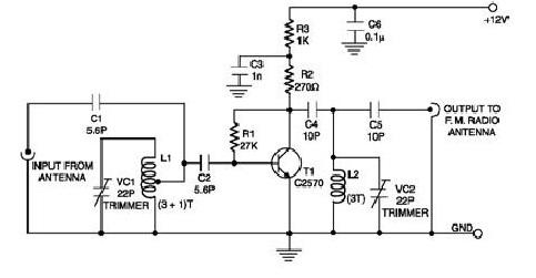 antenna project Page 2 : Antenna Circuits : RF Circuits