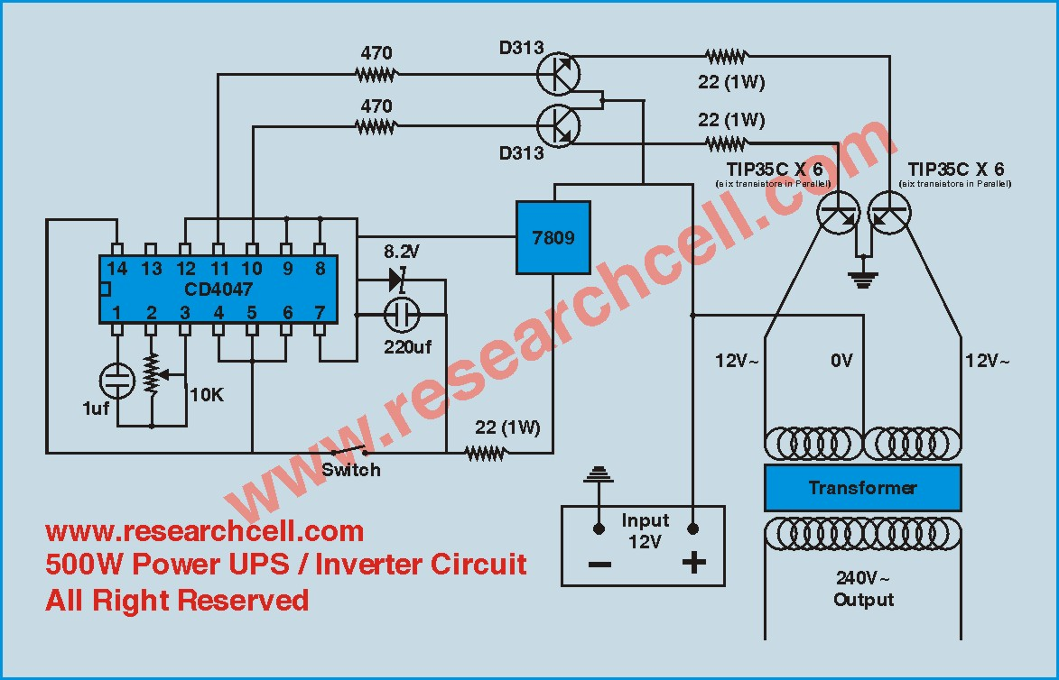 home ups inverter wiring diagram 2003 chevy tahoe bose stereo u p s circuit best library 500w 12v to 230v repository digital numeric 600
