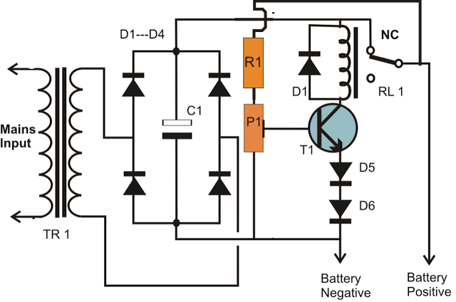 > circuits > simplest smf automotive battery charger