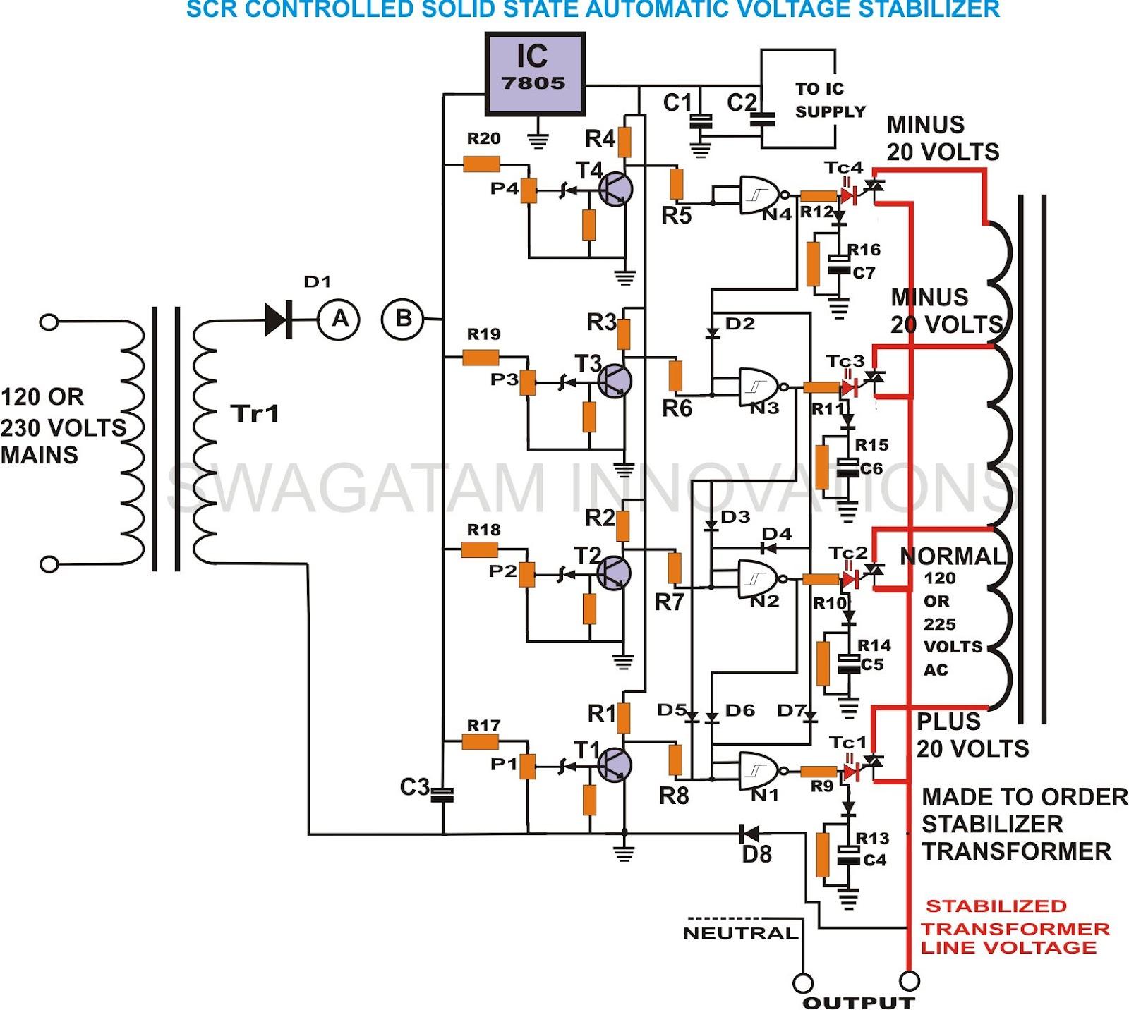 5 Volt Switching Regulator Voltage Circuit