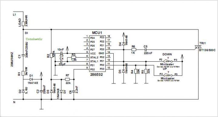 light dimmer circuit Page 5 : Light Laser LED Circuits