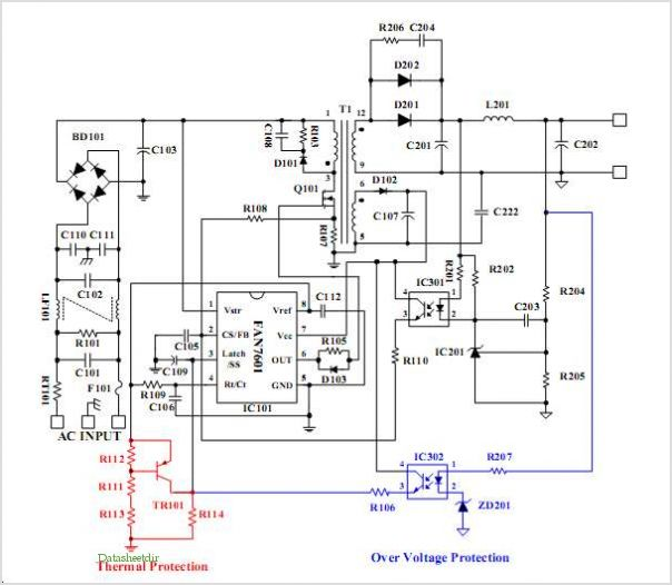 Green Current Mode Pwm Controller Fan7601 under Repository