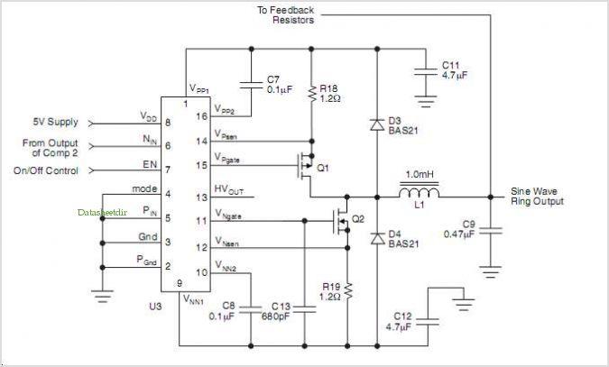 > circuits > Hv440 High Voltage Ring Generator l38110