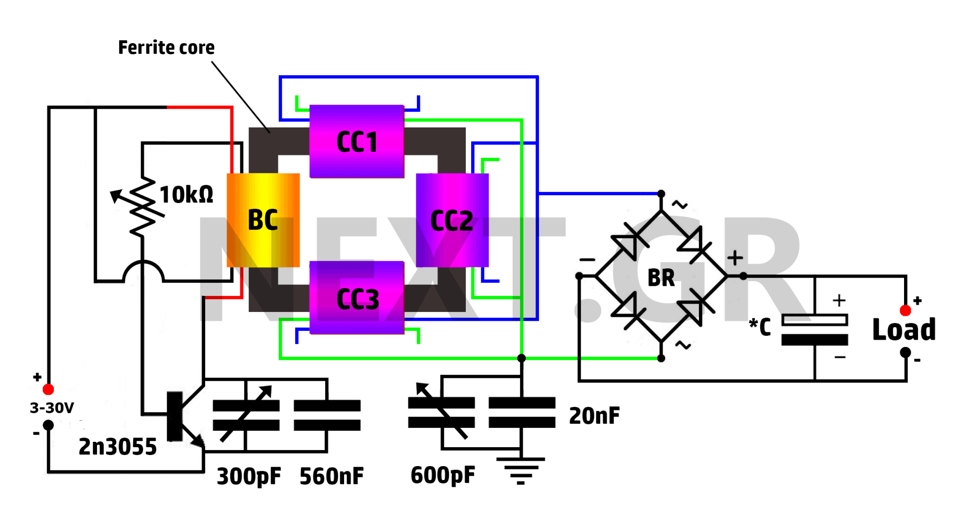 hight resolution of secret high power free energy circuit aec