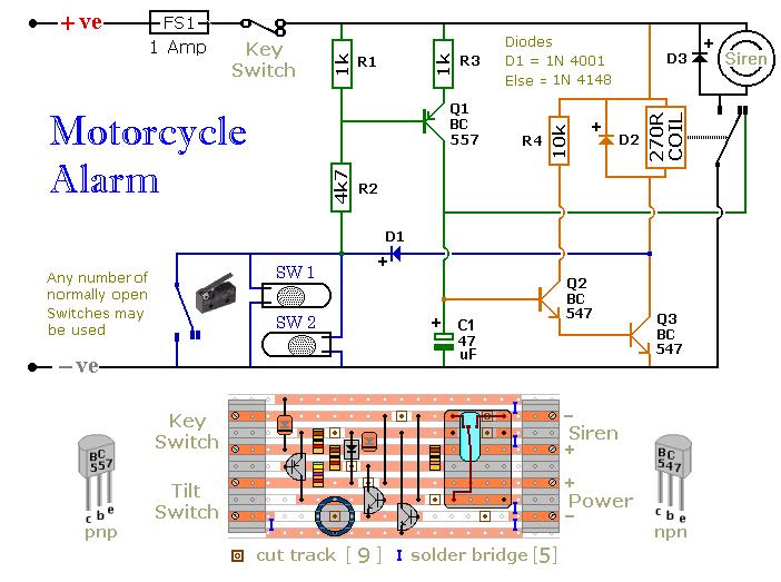 4 Wire Intercom Wiring Diagram Car Alarm Circuit Page 2 Automotive Circuits Next Gr
