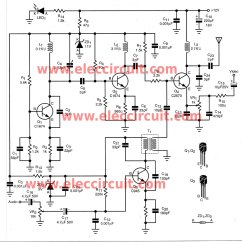 Mass Airflow Receiver Circuit How To Do A Tree Diagram Gt Circuits Diy The Wireless Video Audio Signal Sender