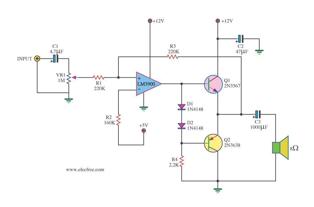 D718 Transistor Lifier   1000w power lifier circuit diagram