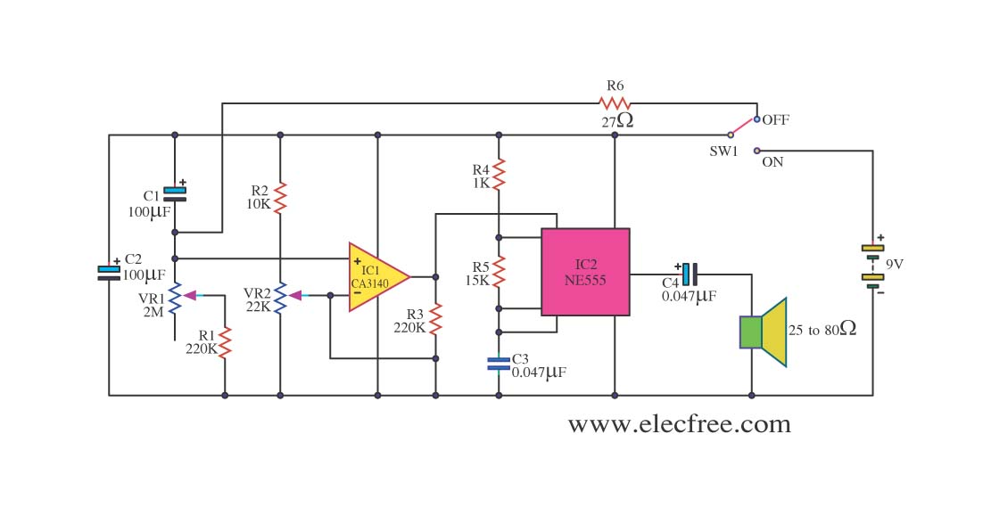 555 timer circuit Page 13 : Other Circuits :: Next.gr