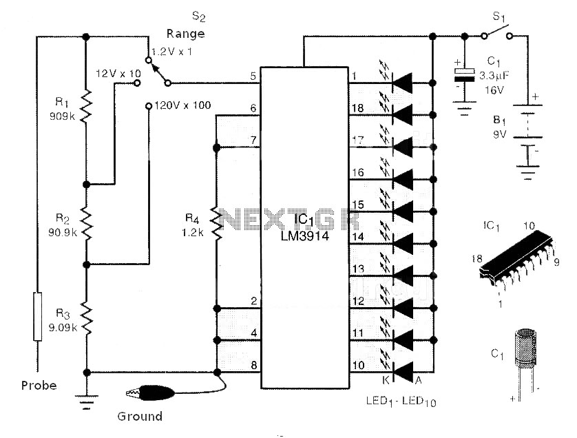 > circuits > GSM Phone Jammer Circuit Schematics l43262