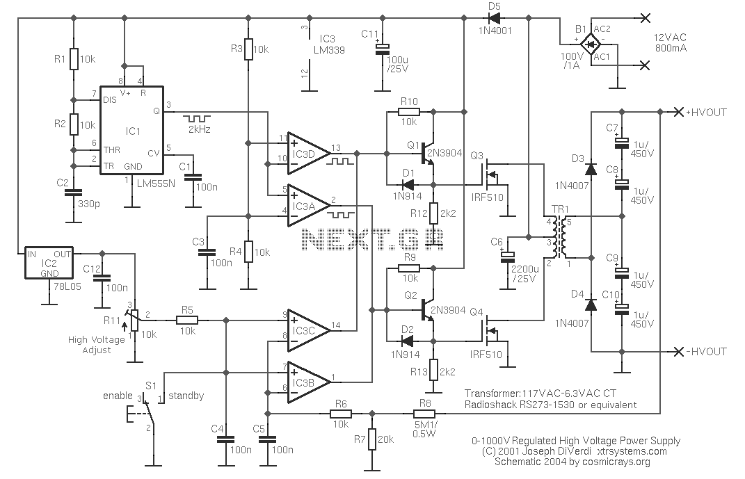 12vdc To 120vac Inverter Schematic, 12vdc, Get Free Image