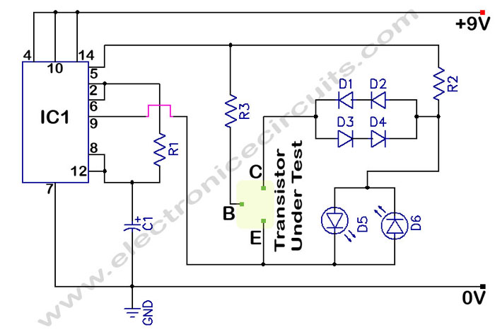 Ansi Wiring Diagram Gt Circuits Gt In Circuit Transistor Tester L41521 Next Gr