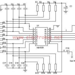 Circuit Diagram Of Non Inverting Amplifier Trailer Wire For 7 Way Tda1029 Audio Signal Source Switch Electronic Project : Repository - Next.gr