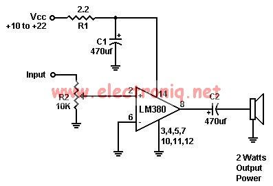 audio amplifier circuit Page 17 : Audio Circuits :: Next.gr