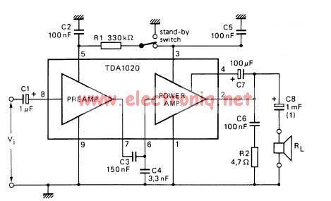 audio amplifier circuit Page 15 : Audio Circuits :: Next.gr