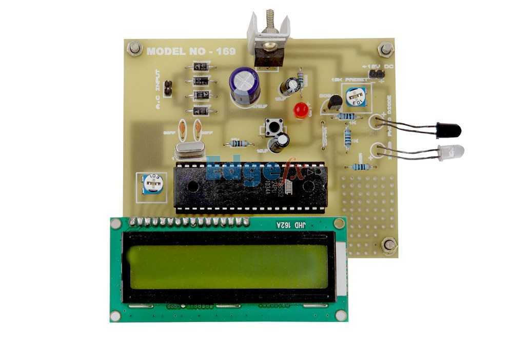 Circuit 40khz Modulated Laser Light Detector Circuit Designed By David