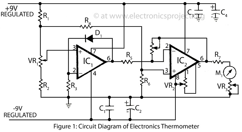thermometer circuit Page 4 : Meter Counter Circuits :: Next.gr
