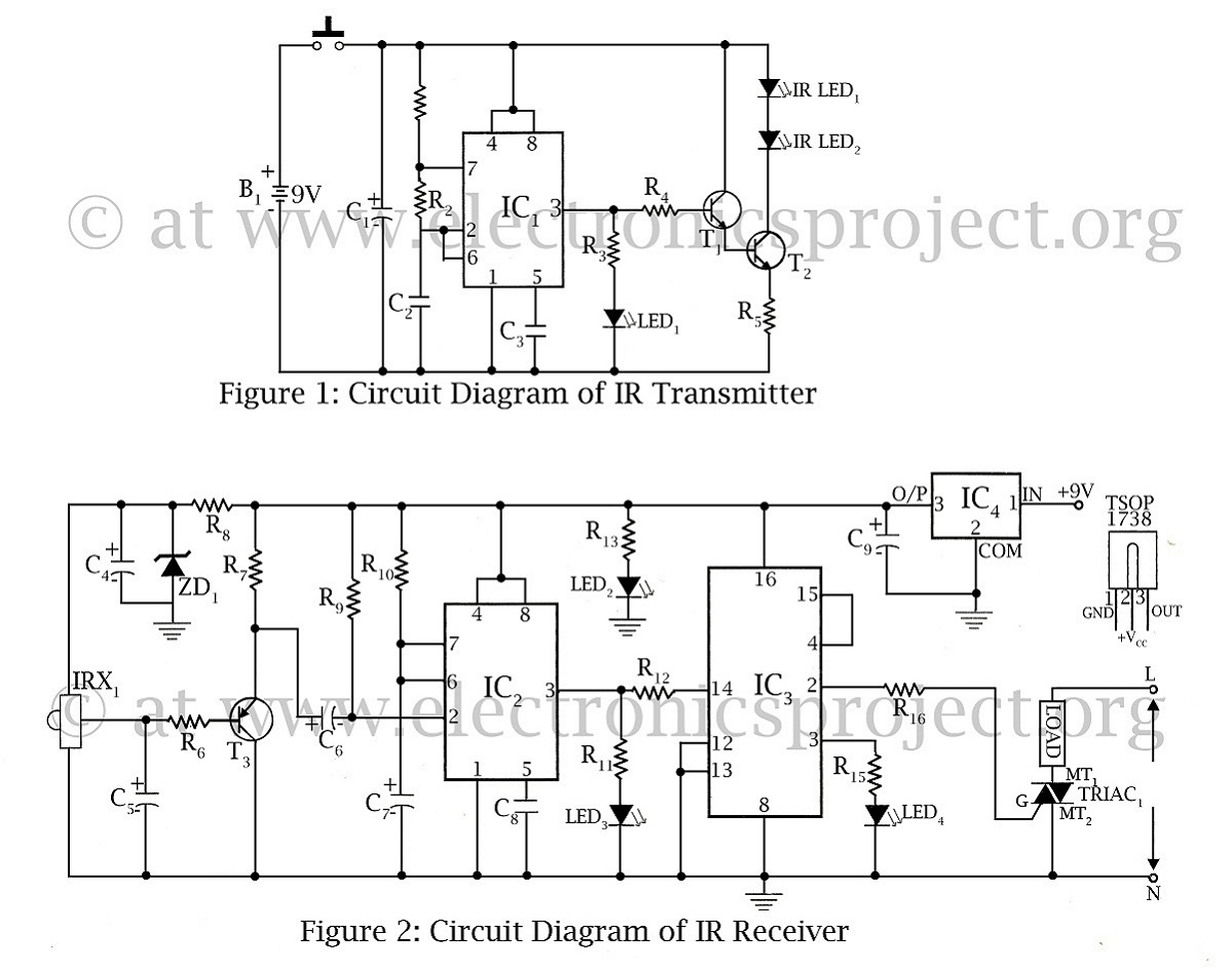 infrared circuit Page 6 : Light Laser LED Circuits :: Next.gr