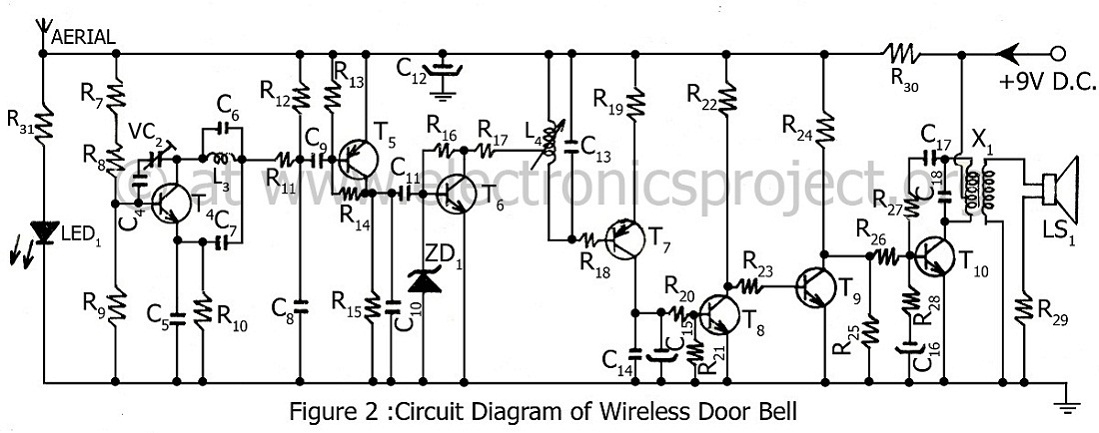 > circuits > 9V to 13 5kV Inverter Circuit Schematic