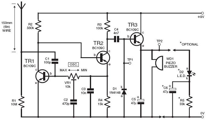 light sensor circuit Page 5 : Sensors Detectors Circuits
