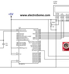 interfacing ultrasonic distance sensor ascii pic microcontroller [ 3095 x 2296 Pixel ]