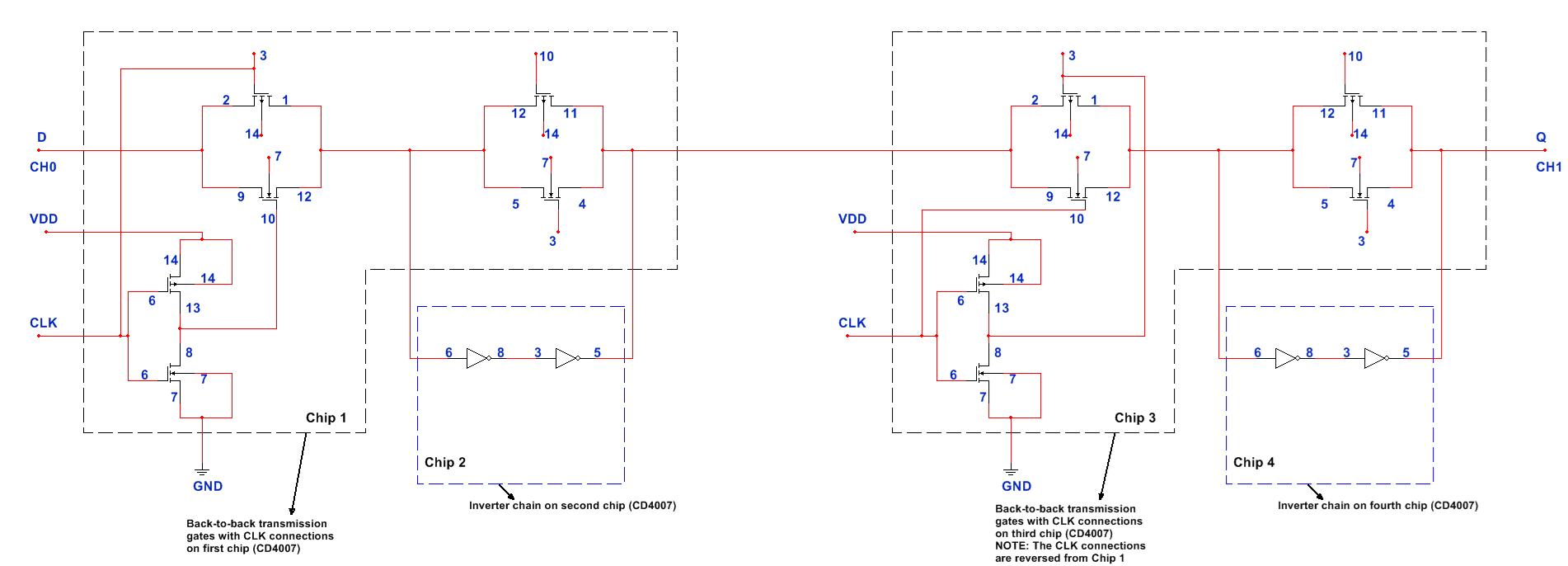 hight resolution of cmos logic circuits