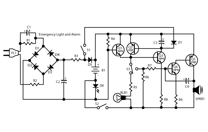 alarm circuit Page 6 : Security Circuits :: Next.gr