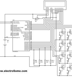 reading multiple pressed keys matrix keypad pic microcontroller  [ 3790 x 2756 Pixel ]