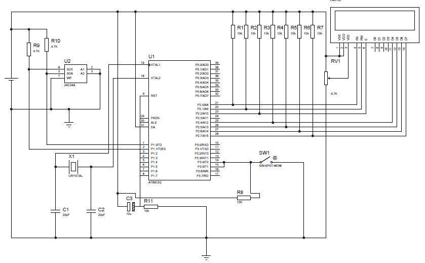 8051 8052 circuit : Microcontroller Circuits :: Next.gr
