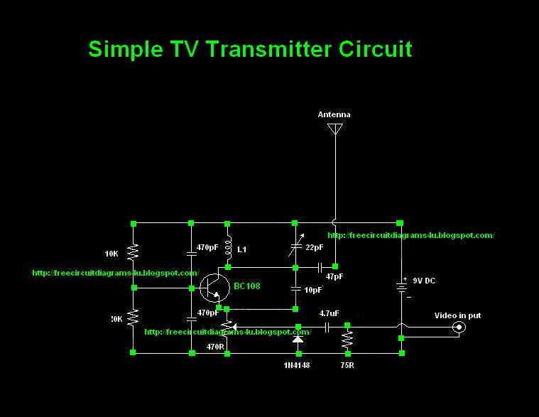 fpv transmitter wiring diagram draw a word problems vhf circuit rf circuits next gr tv