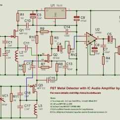 Gold Detector Circuit Diagram 1983 Toyota Pickup Stereo Wiring Gt Sens Detectors Metal Circuits Zero Beating