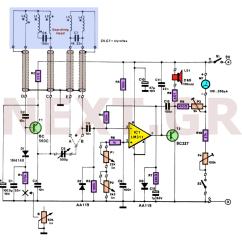 Gold Detector Circuit Diagram Aprilia Rs 125 Wiring 2008 Metal Sensors Detectors Circuits Next Gr