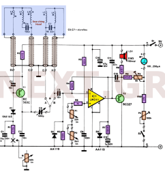 metal detector circuit sensors detectors circuits next gr collection gold detector circuit diagram pictures diagrams [ 1209 x 1119 Pixel ]