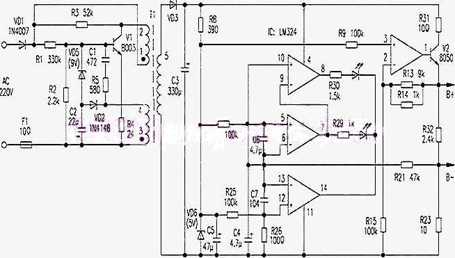 mobile cellphone jammer circuit diagram