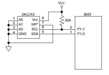 24C32 32K 5.0V I2C Smart Serial EEPROM under Repository