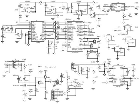 > circuits > LM1881 LM1881 Video Sync Separator l45472