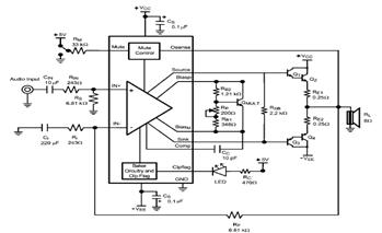 LME49810 Audio Amplifier Circuit Schematic and Datasheet