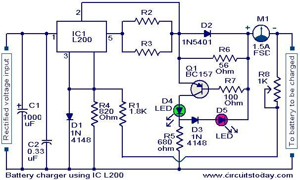 10a Coil Wiring Diagram Lighting Battery Charger Circuit Page 18 Power Supply Circuits