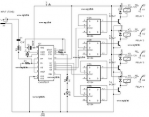 dtmf circuit Page 2 : Telephone Circuits :: Next.gr