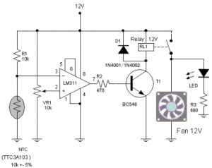 > other circuits > Test circuit diagram with feedback