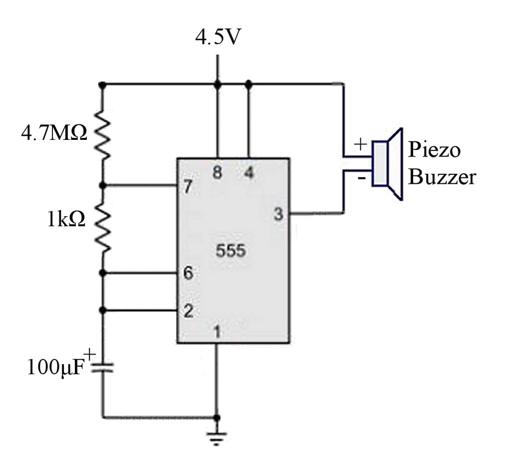 figure 3 the vital electric components of the flash circuitry