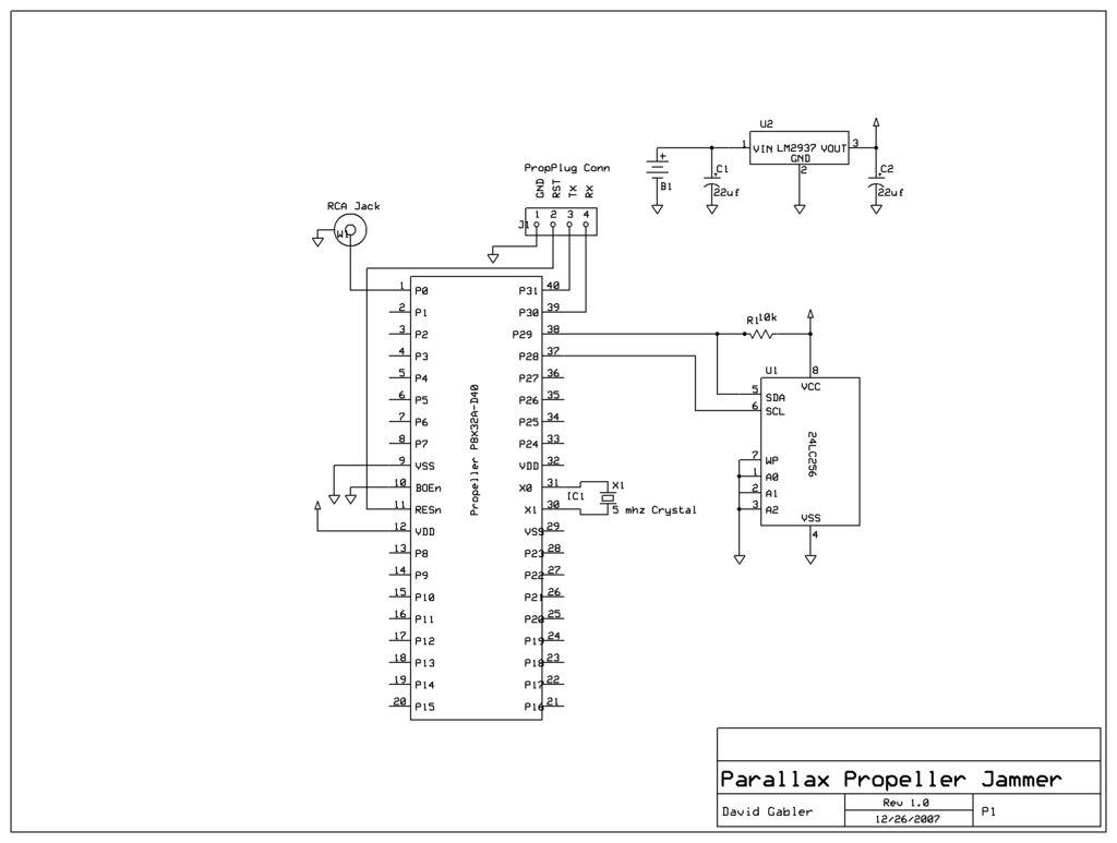 hight resolution of rf jammer diagram