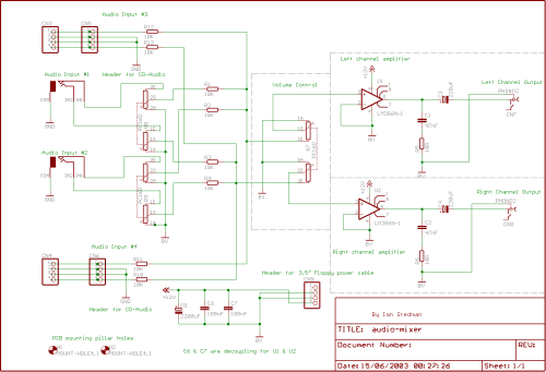 small resolution of mixer schematic