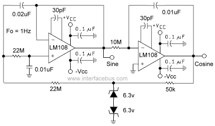 sine wave oscillator circuit Page 4 : Oscillator Circuits